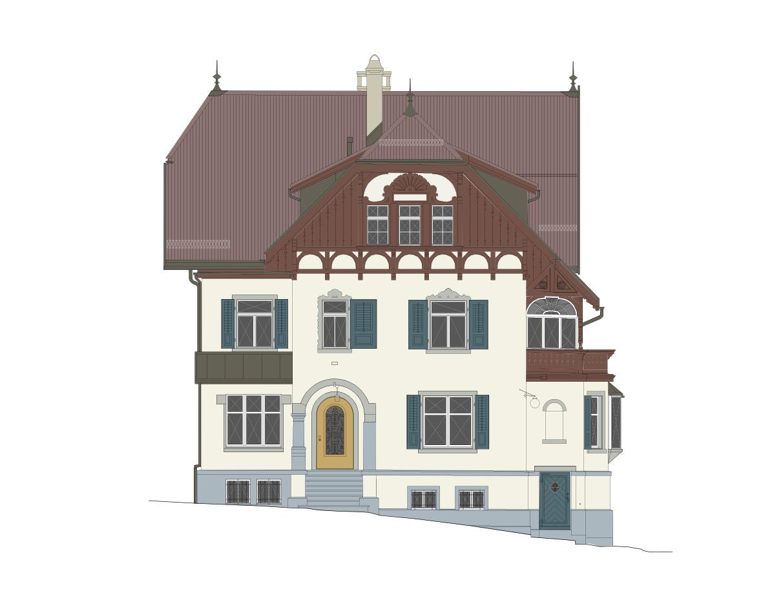 Farbgestaltung villa annaberg deck 4 for Raum farbgestaltung