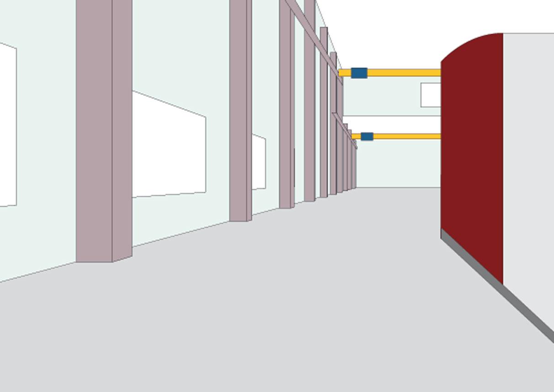 Farbgestaltung produktionshalle deck 4 for Raum farbgestaltung