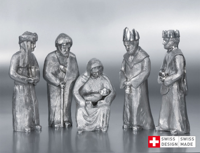 2-Produkt-Weihnachtskrippe_Silberfiguren-Rheindesign