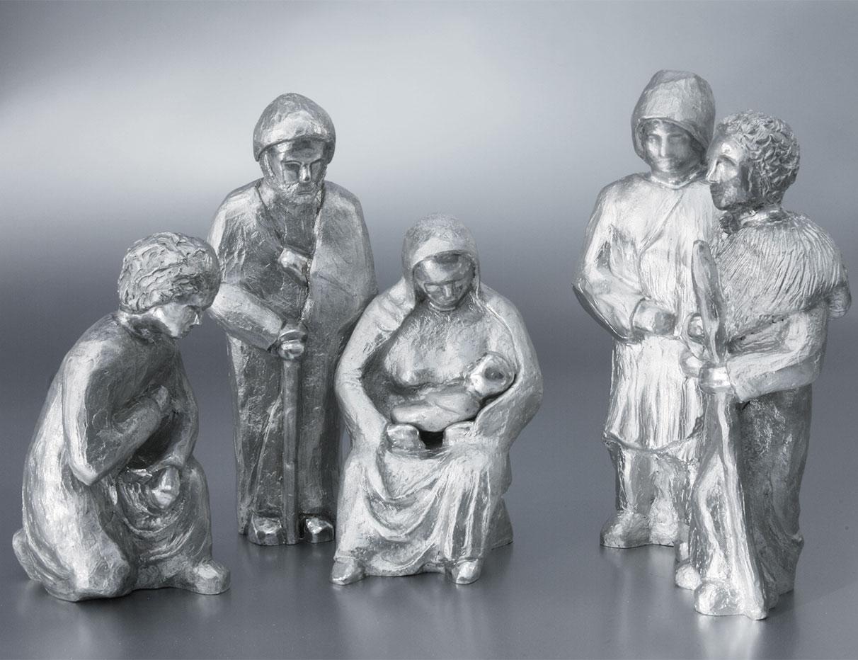 3-Produkt-Weihnachtskrippe_Silberfiguren-Rheindesign